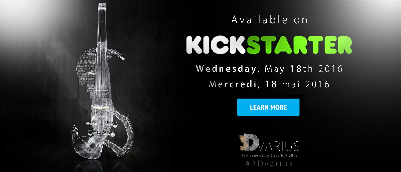 Notre Kickstarter sera bientôt disponible