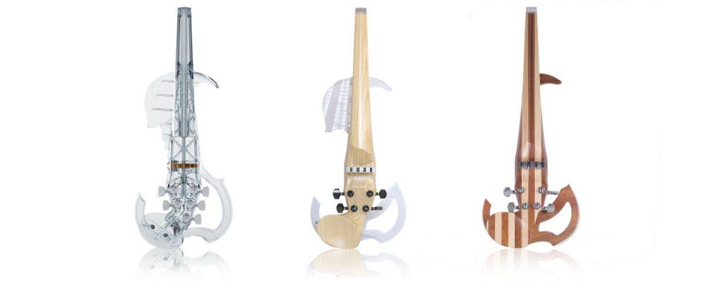3Dvarius violínes eléctricos
