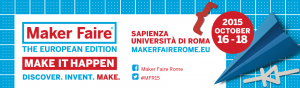 3Dvarius at Maker Faire Rome