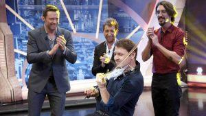 Hugh Jackman découvre le 3Dvarius