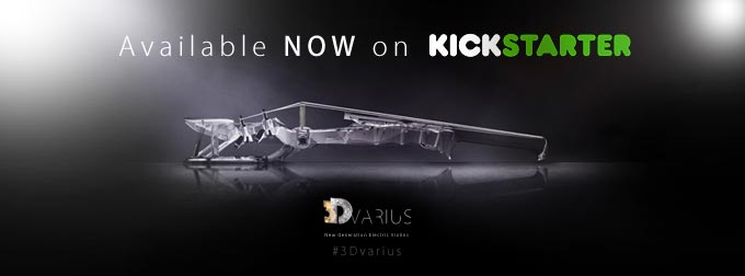 3Dvarius Kickstarter