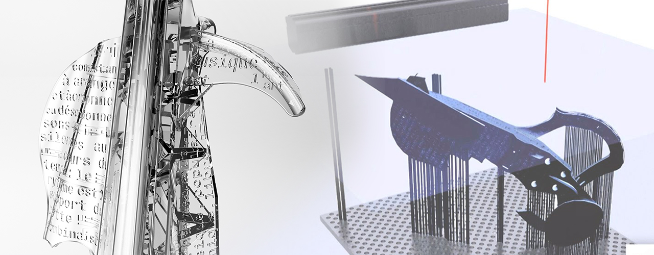 Stereolithography: the 3D-printing process