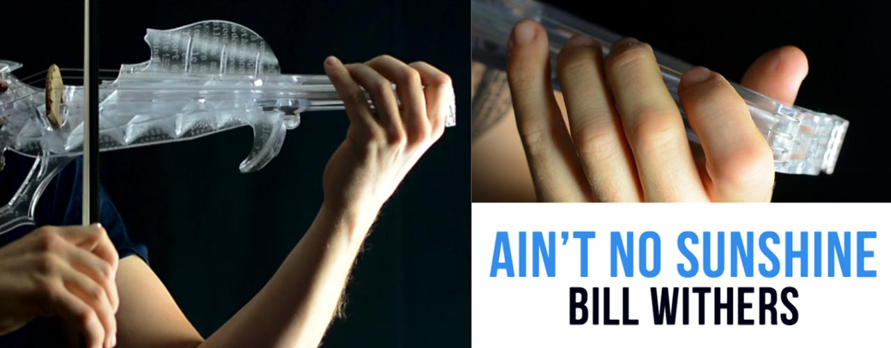[How To Play] Ain't No Sunshine – Bill Whiters