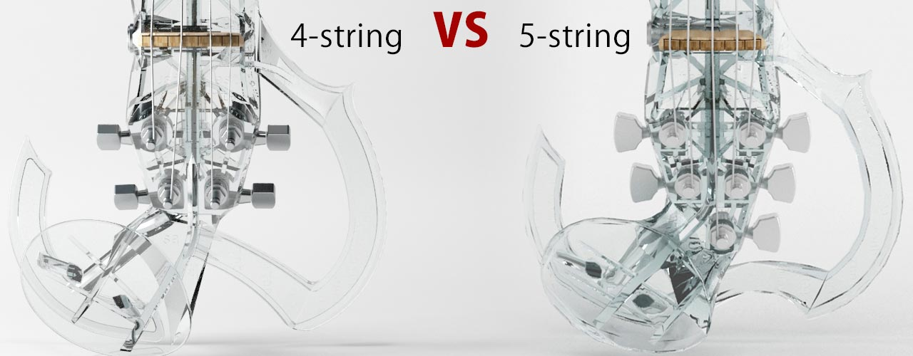 4-string vs 5-string electricviolin
