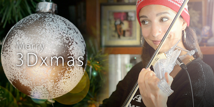 [Violin Cover] Merry 3Dxmas