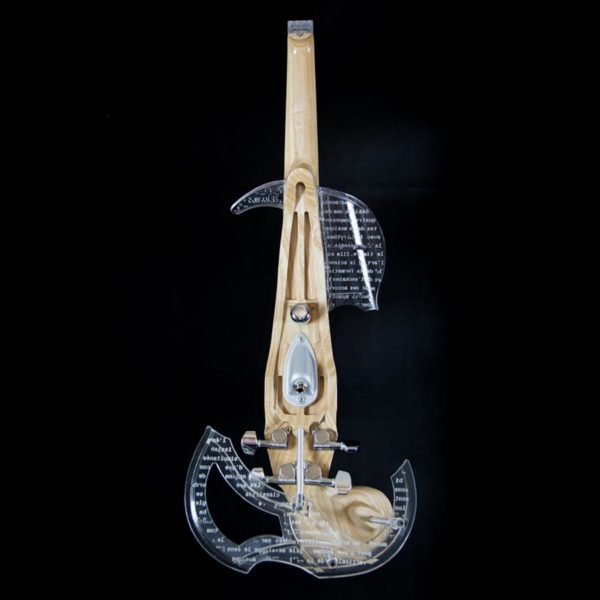 Equinox Electric Violin back view
