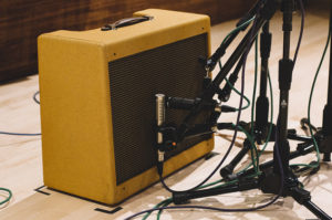 mic and amplifier