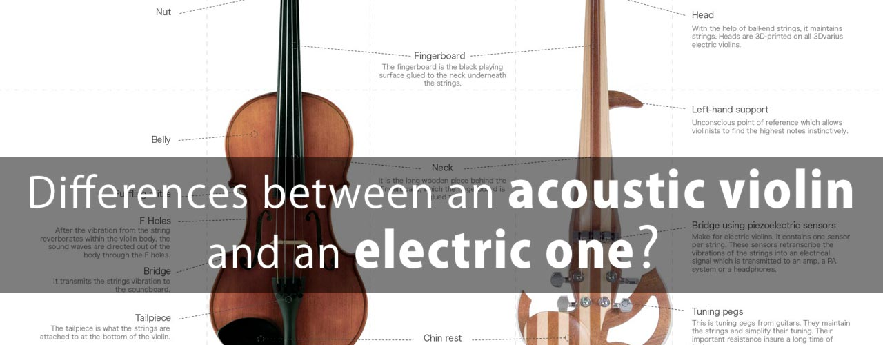 Differences between an acoustic and electric violin