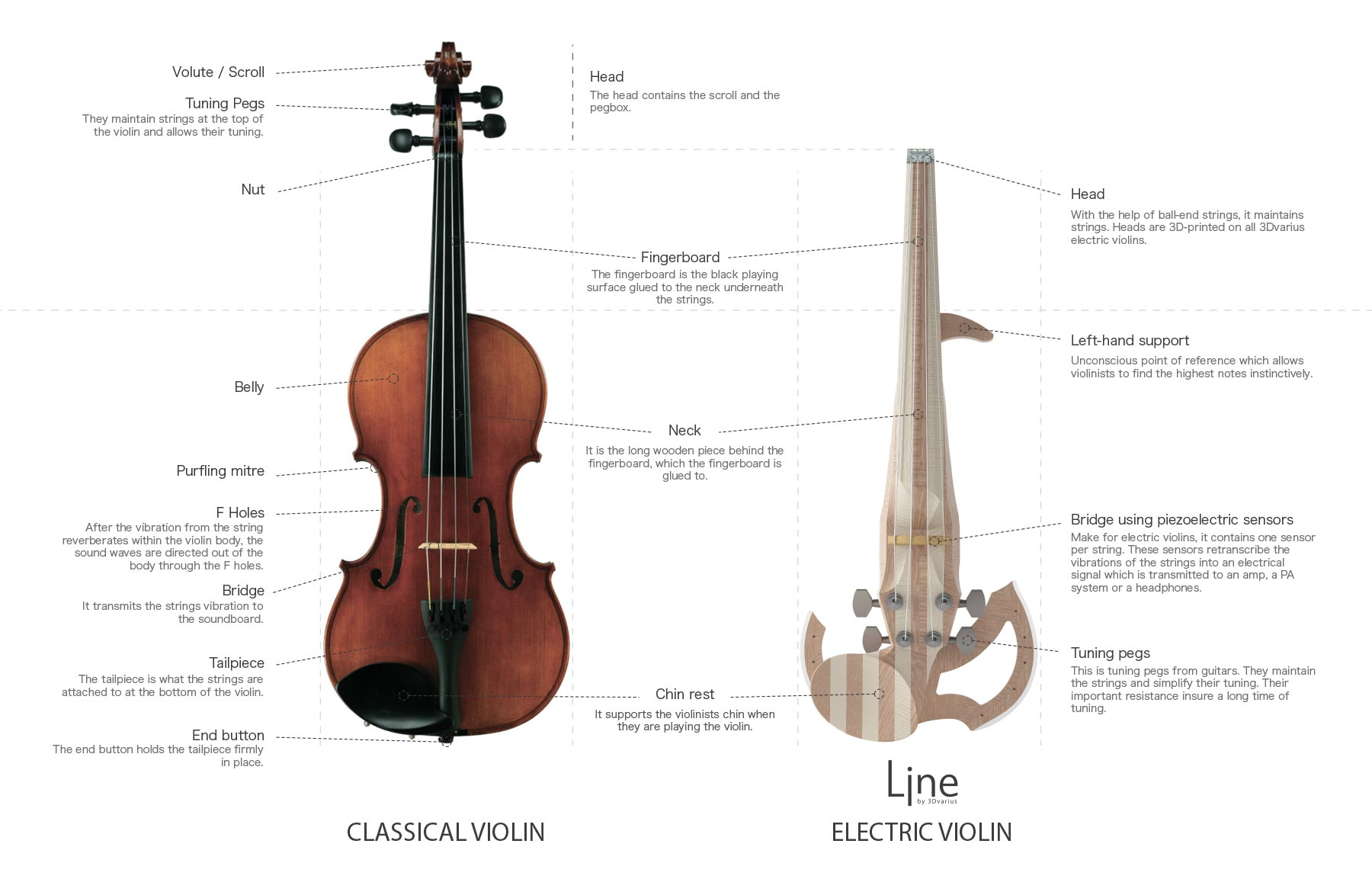 what are the differences between an acoustic and an electric violin. Black Bedroom Furniture Sets. Home Design Ideas