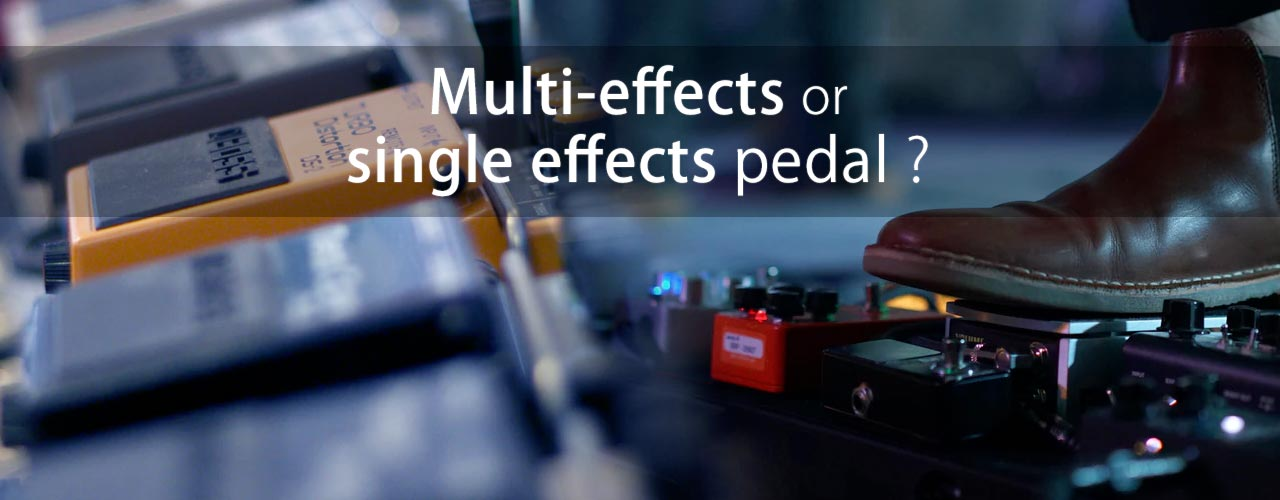 multi-effects or effect pedal violin