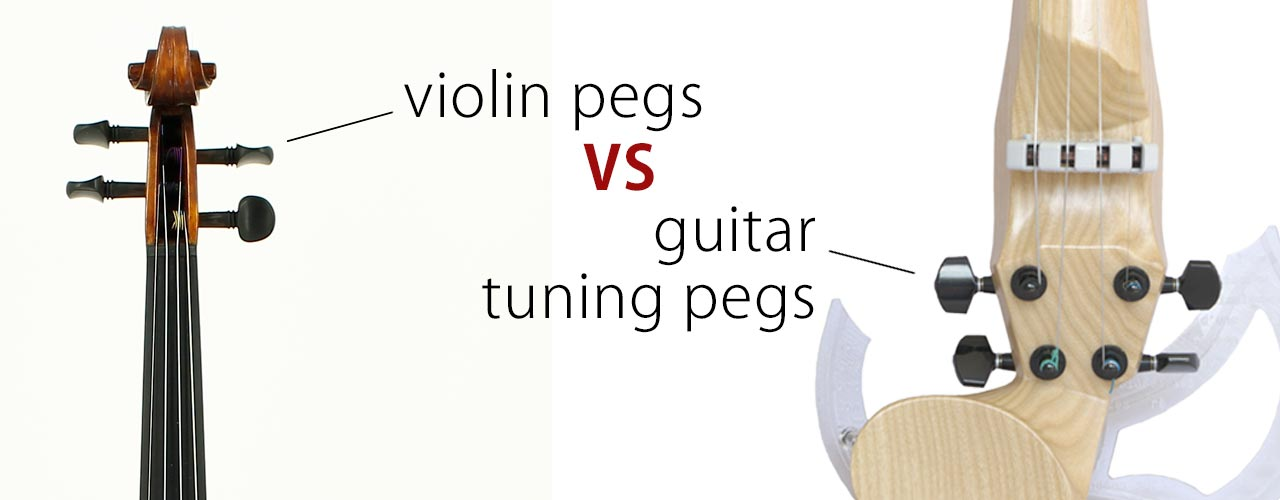 violin pegs vs guitar tuning pegs