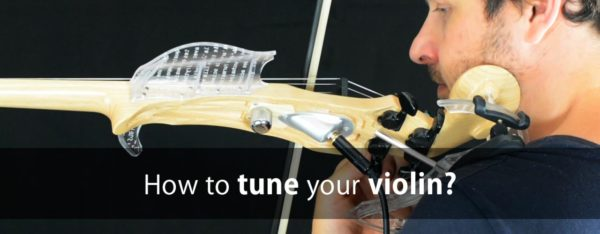 How to tune your violin?