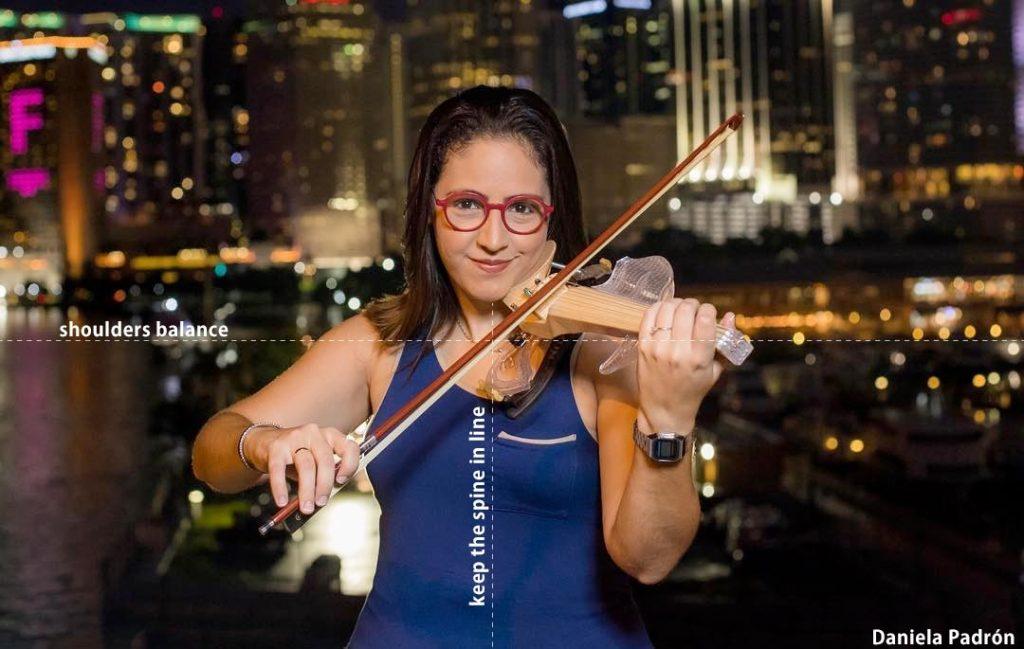 Violinist position