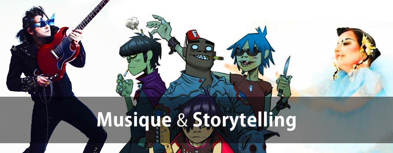 Storytelling et Musique