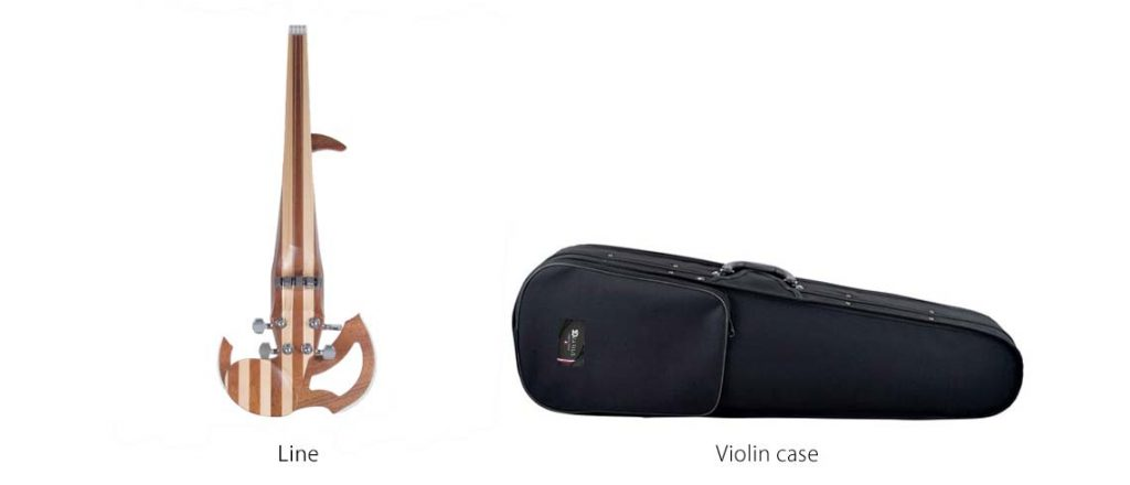 Violin case of the Line