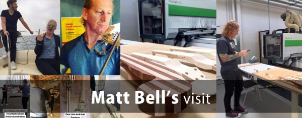 Matt Bell from Electric Violin Shop visit us!