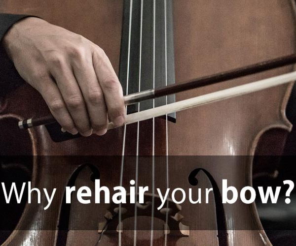 Why would you want to rehair a bow?