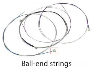 ball-end strings