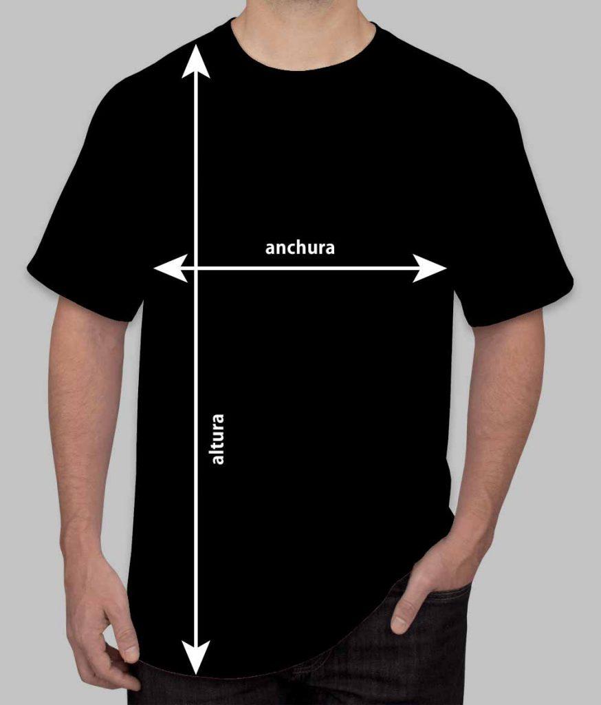 Medidas de las camisetas Hombre
