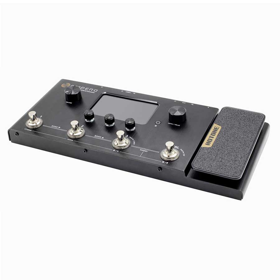 Hotone Ampero effects pedal for violin