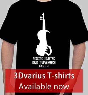 Electric violin T-shirts