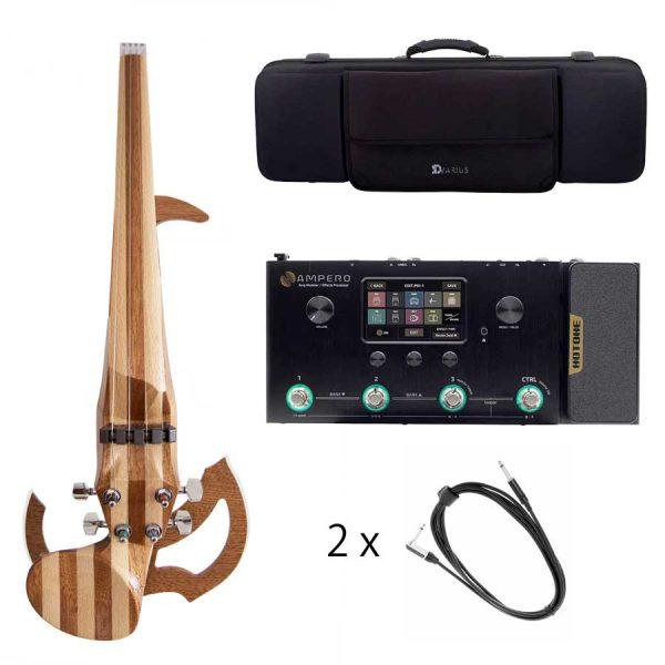 Bundle Line Multi effects pedalboard violin case