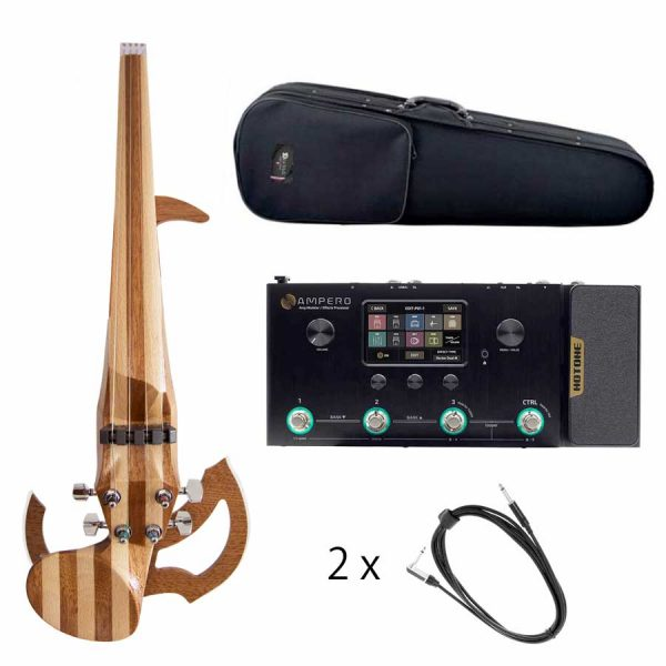 Bundle electric violin and multi effects processor