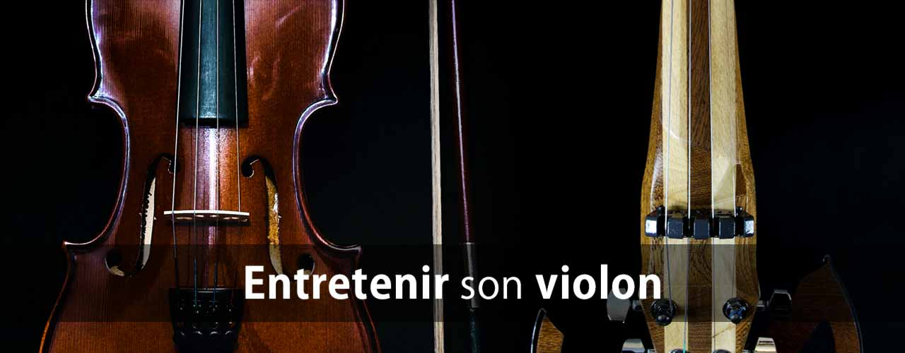 Nettoyer son violon