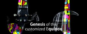 Equinox a customized electric violin