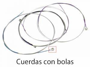 Cuerdas con bolas