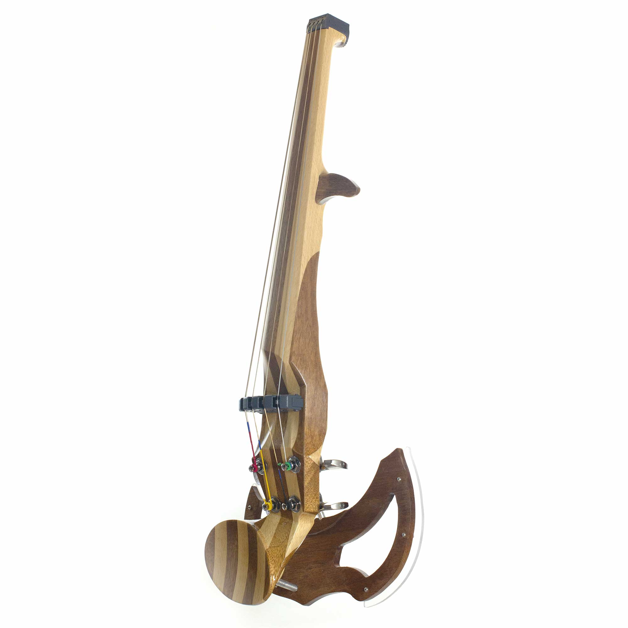 Un violon électrique équipé de cordes baryton