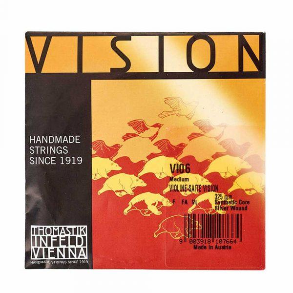 Cuerda de Fa Vision para violín 4/4