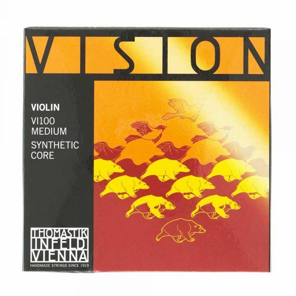 Juego de cuerdas Vision Thomastik para violín