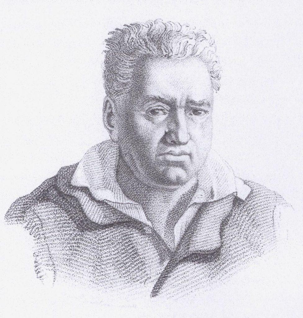 Gravure de l'archetier François Xavier Tourte