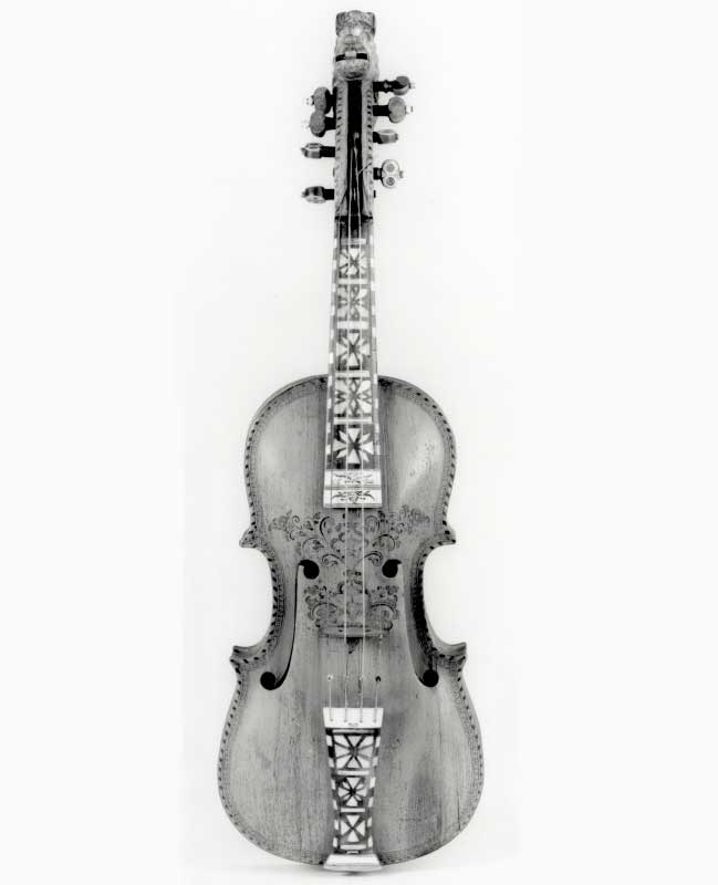 Hardanger fiddle from Norway