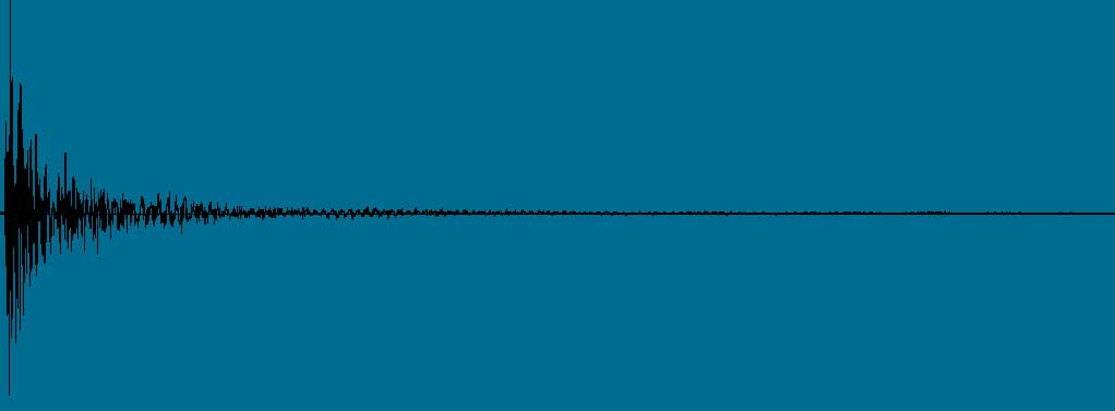 Impulse Response sound waves